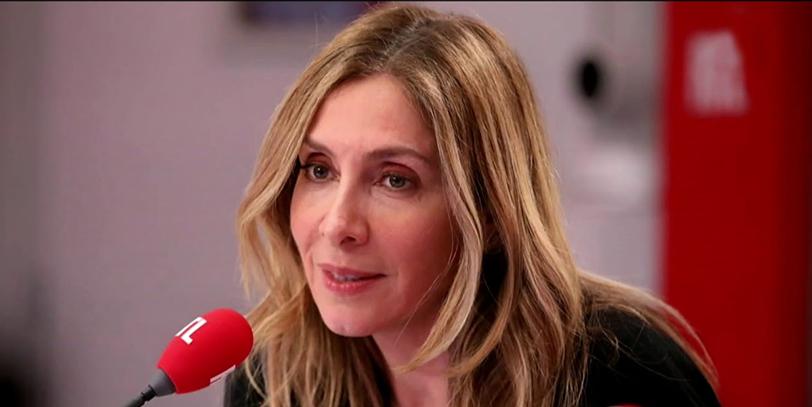 Carole Ghosn au micro de RTL le 08 avril 2019. Crédit photo : RTL