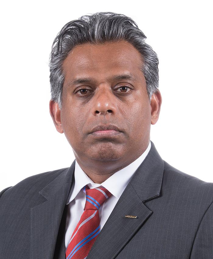 Hari Nada, directeur juridique de Nissan. Copyright : NIssan Motor Company