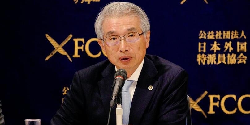 Junichiro Hironaka le 04 mars 2019 au centre des corrrespondants de la presse de Tokyo en conférence de presse. crédits photo : FCCJ