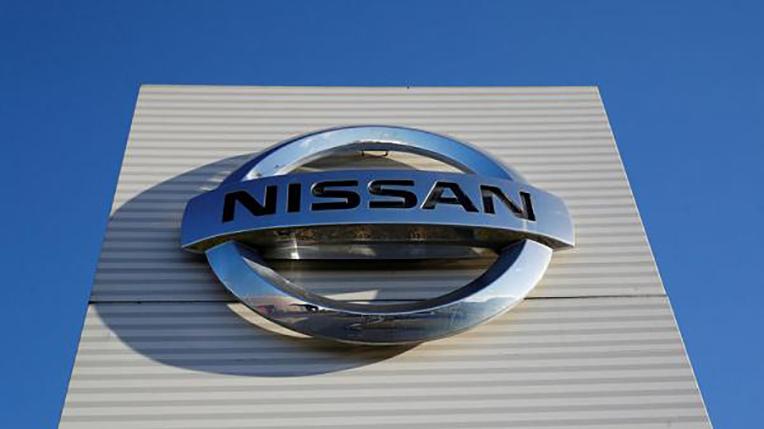 Logo de Nissan sur un batiment de l'entreprise. Copyright  Phil Noble(Reuters)