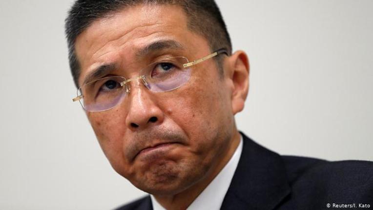 Hiroto Saikawa lors d'une conférence de presse en 2017. Crédit photo : Reuters / I. Kato