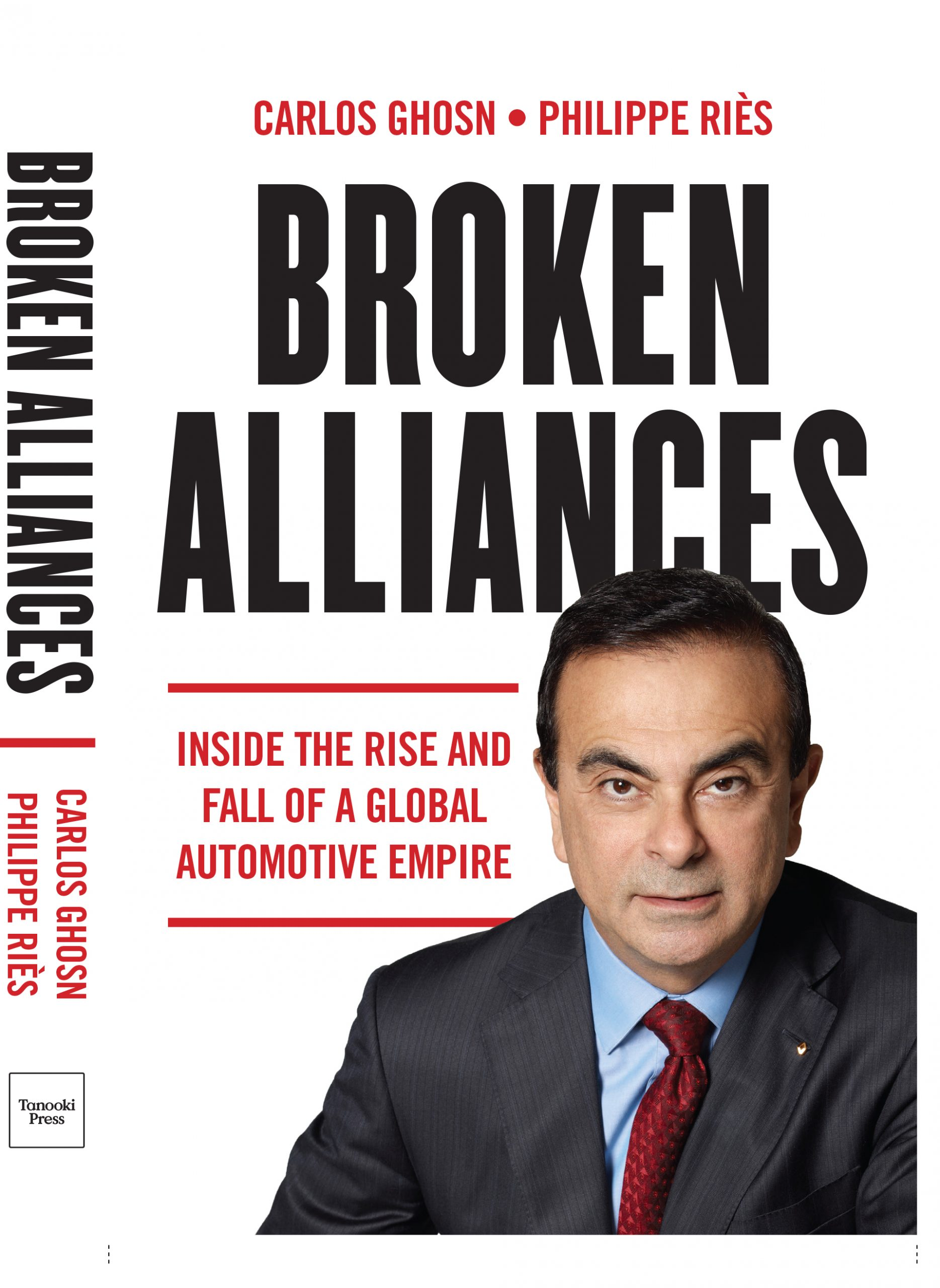 Cover from Broken Alliances book by Carlos Ghosn